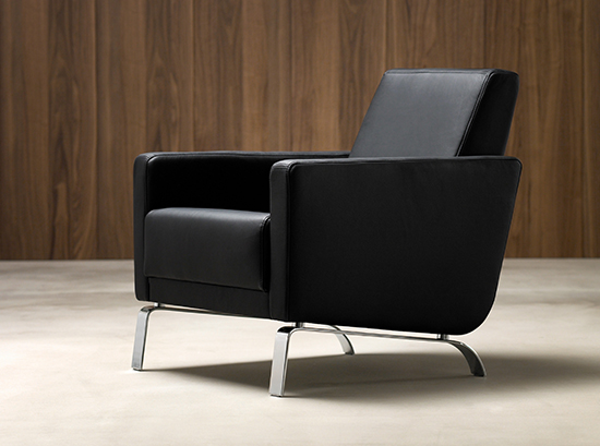 Fly - modern black armchair Sydney