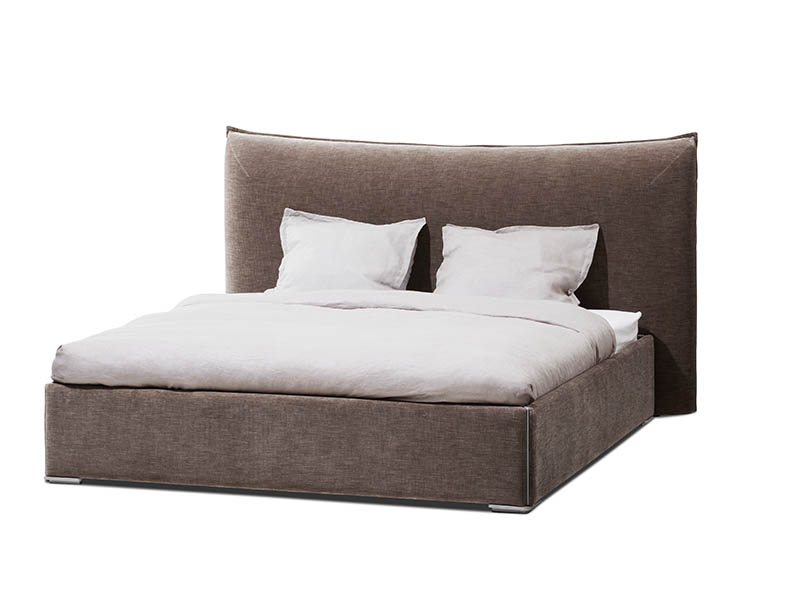 Gent bed - white & brown