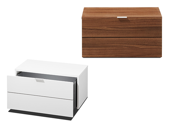Seattle modern bedside tables