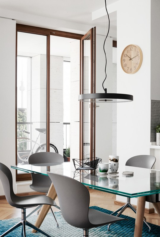 Monza Extendable Glass Dining Table By Boconcept