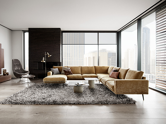 Carlton - Lounge suite with Chaise Sydney