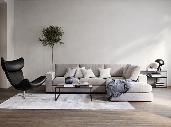 Cenova - Chaise sofa by BoConcept
