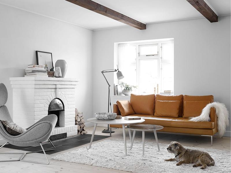 Istra-2 modern leather sofa Sydney