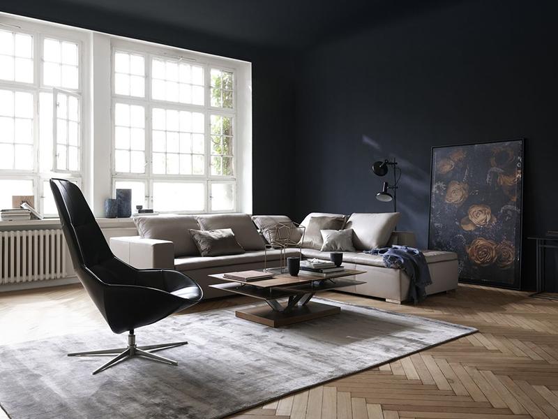 Mezzo - modern sofa with chaise- BoConcept Sydney