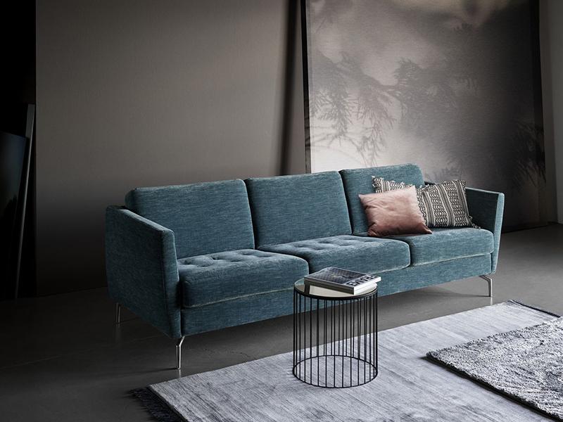 Osaka blue fabric sofa Sydney
