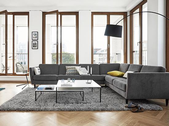 Osaka - designer lounge suite - BoConcept Sydney