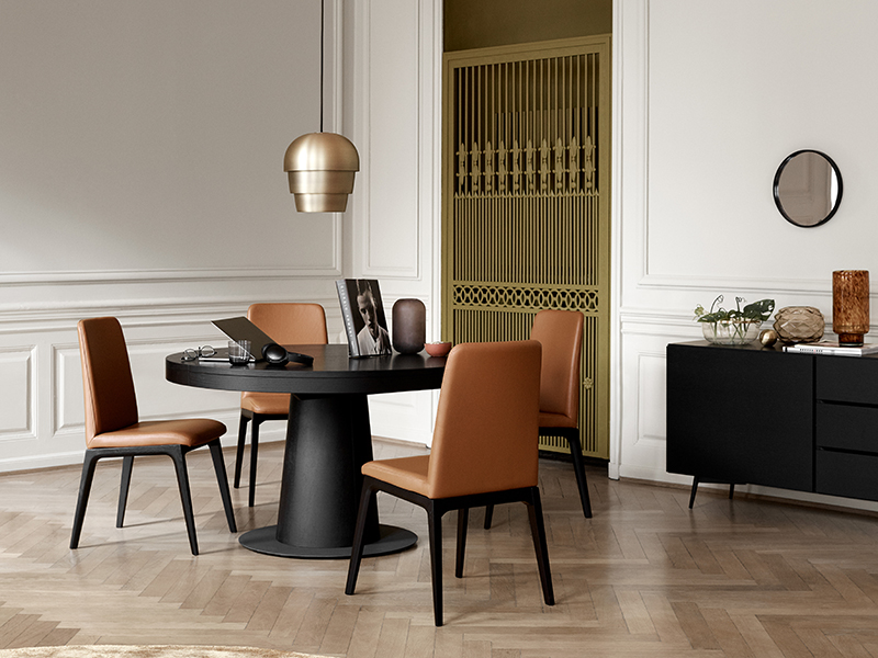 Remarkable Granada Extendable Round Dining Table By Boconcept Uwap Interior Chair Design Uwaporg
