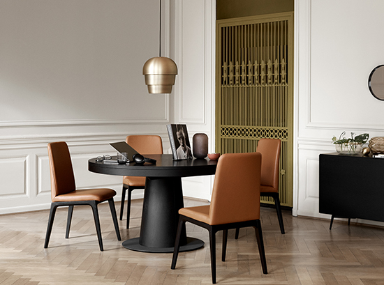 Granada Extendable Round Dining Table By Boconcept