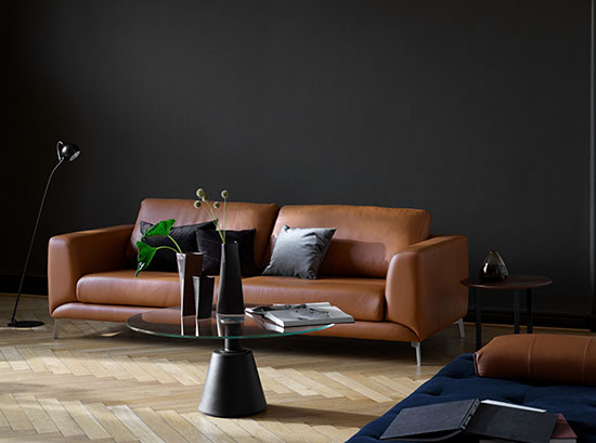 Fargo Caramel Sofa