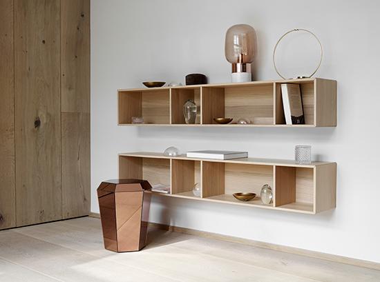 Wooden Como Bookshelf By Boconcept