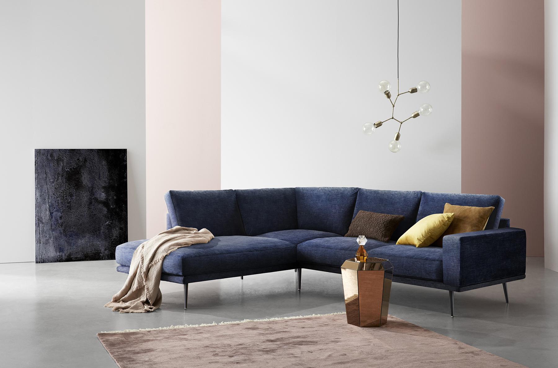 carlton blue sofa