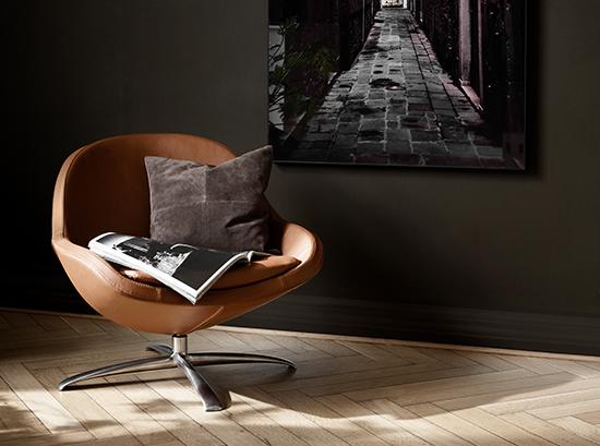 Ogi Leather Armchair