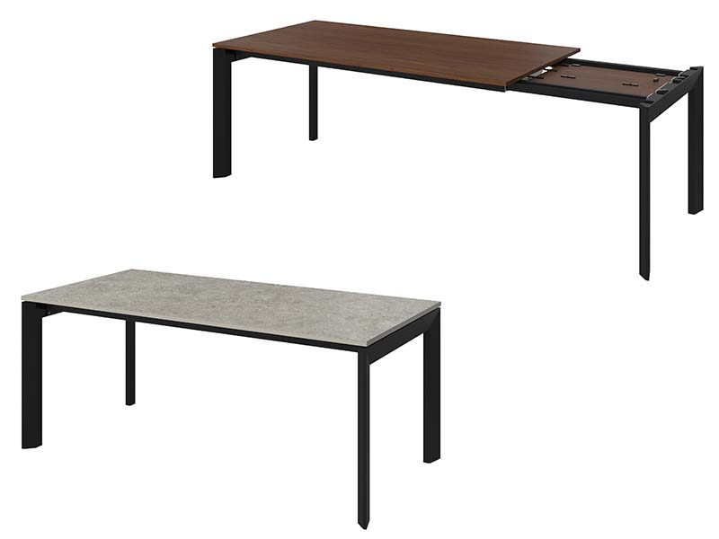 Lyon designer extendable dining tables