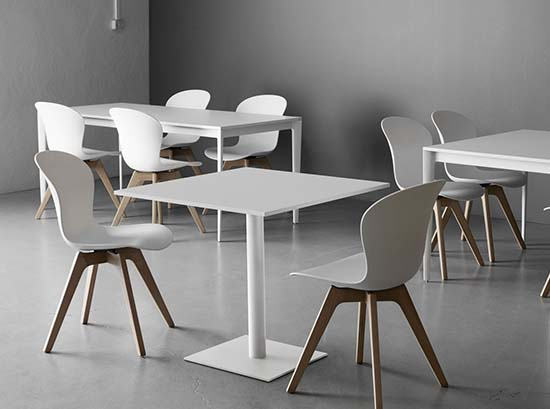 Torino small modern dining table