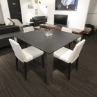 Prato black Dining Table