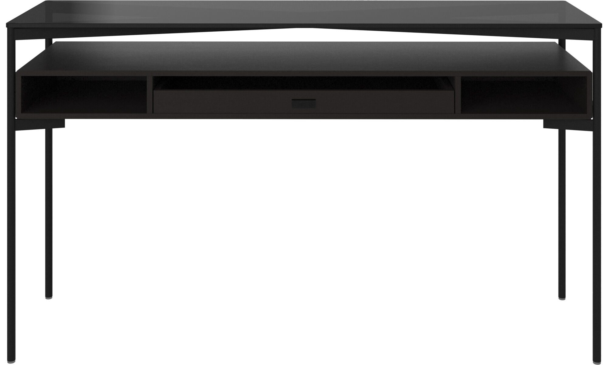 los angeles black console table sydney