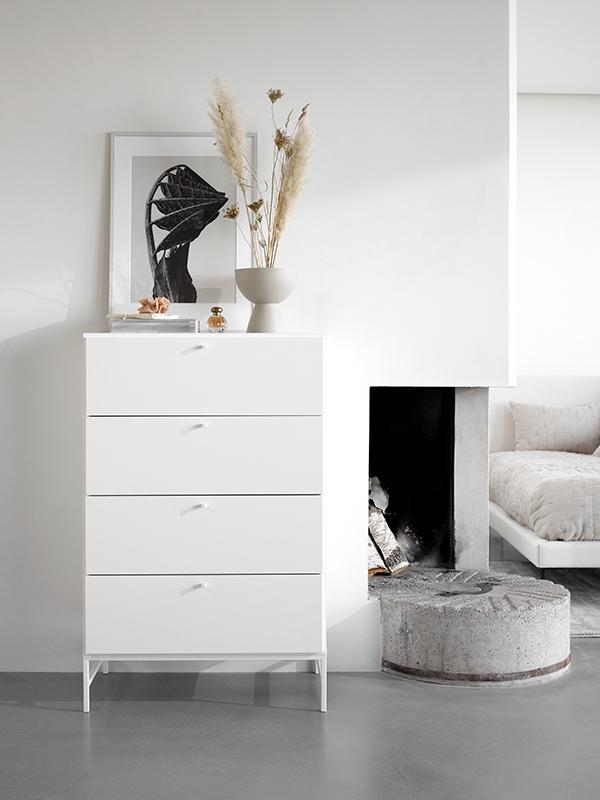 Bordeaux white bedroom dresser sydney
