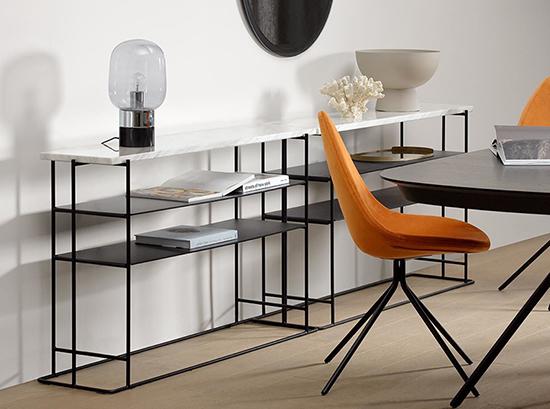 Paris marble console table sydney