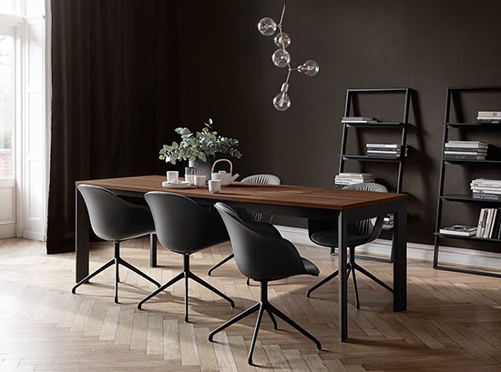 Lyon wooden dining table