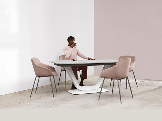 alicante ceramic dining table